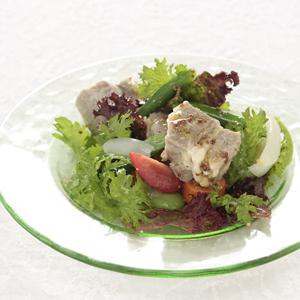 塩豚サラダ